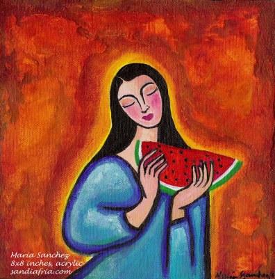 Maria de las Sandias